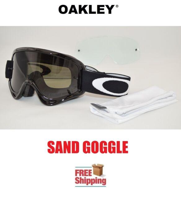 4f24f46bd97 Oakley O-frame XS Youth Kids Goggles Sand MX ATV Motocross Dark Tint ...