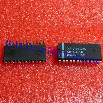 5PCS NEW ORIGINAL CD4515BCN PDIP-24 INTEGRATED CIRCUIT