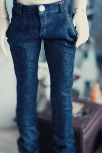 Uncle  Doll Clothes CMB78 Fashion BJD Doll Dark Blue Jeans For BJD 1//4,1//3,SD17