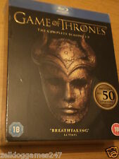 GAME OF THRONES THE COMPLETE SEASONS 1-5 BOXSET (BLU-RAY) NEW & FACTORY SEALED
