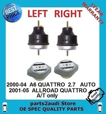 Left /& Right Mount 2PCS for Audi A4 Quattro A6 Quattro// VW Passat Quality Trans