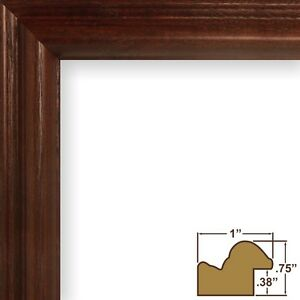 "Craig Frames Wiltshire Ash 130, 1"" Cherry Hardwood Picture Frame"