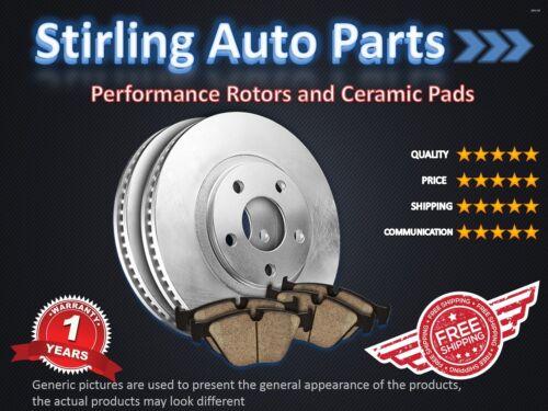 2007 2008 2009 2010 for GMC Acadia Brake Rotors and Ceramic Pads Rear