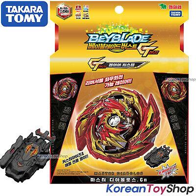 Launcher Authentic Takara Tomy Beyblade Burst B-155 Master Diabolos.Gn w