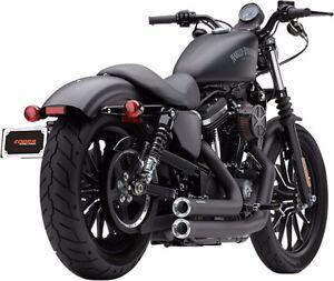 Image Is Loading Cobra Sdster Black Exhaust Harley Sportster 883 1200