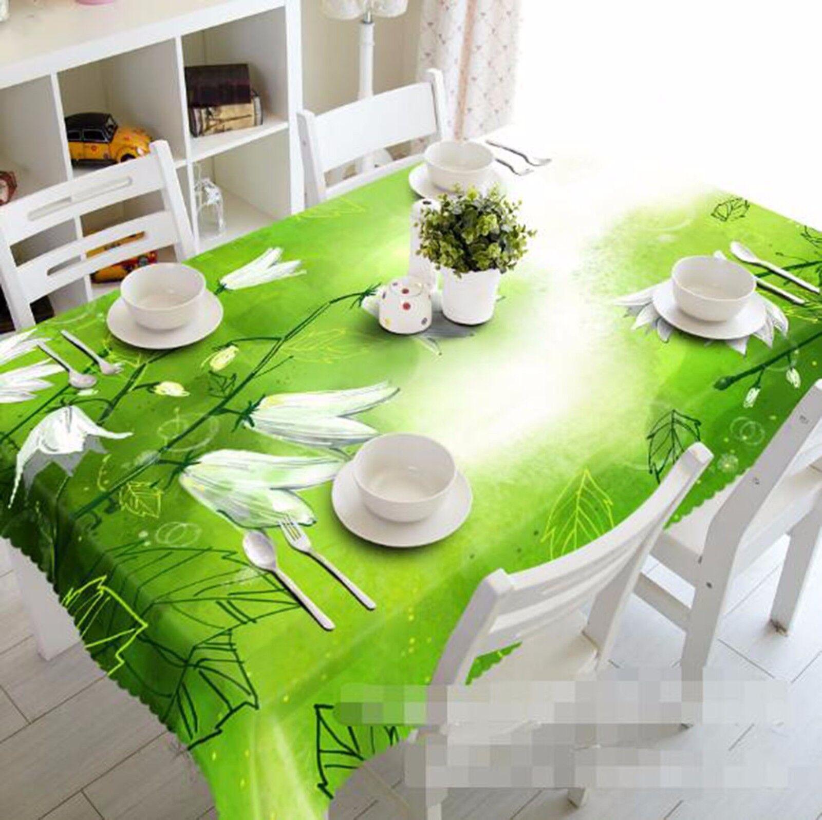 3D pétales 416 Nappe Table Cover Cloth fête d'anniversaire AJ papier peint Royaume-Uni Citron