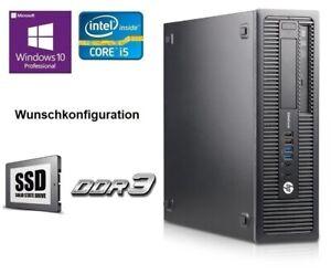 HP-ProDesk-600-G1-SFF-Intel-Core-i3-i5-i7-8GB-16GB-32GB-RAM-SSD-DVD-wie-800-G1