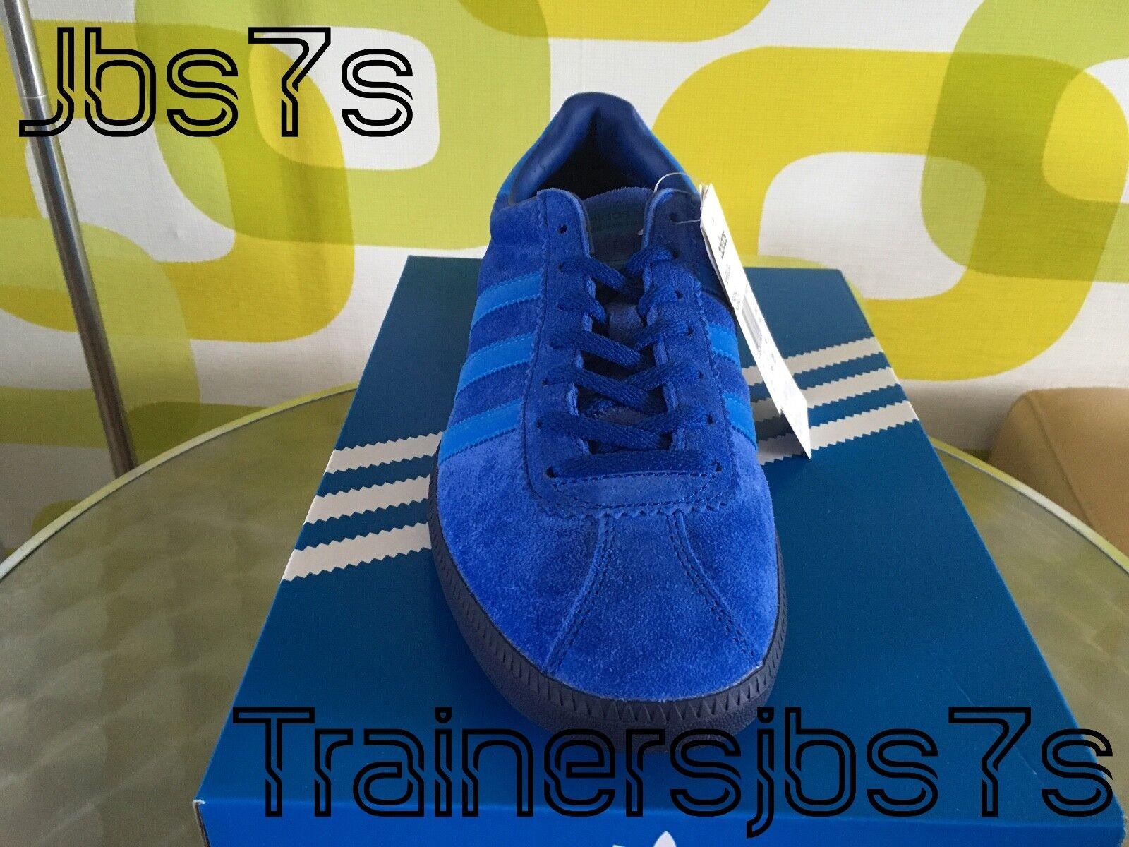 ADIDAS BERMUDA UK11 BNIBWT BNIBWT UK11 2016 Azul Suede spzl casuales Vintage 80s a230f8