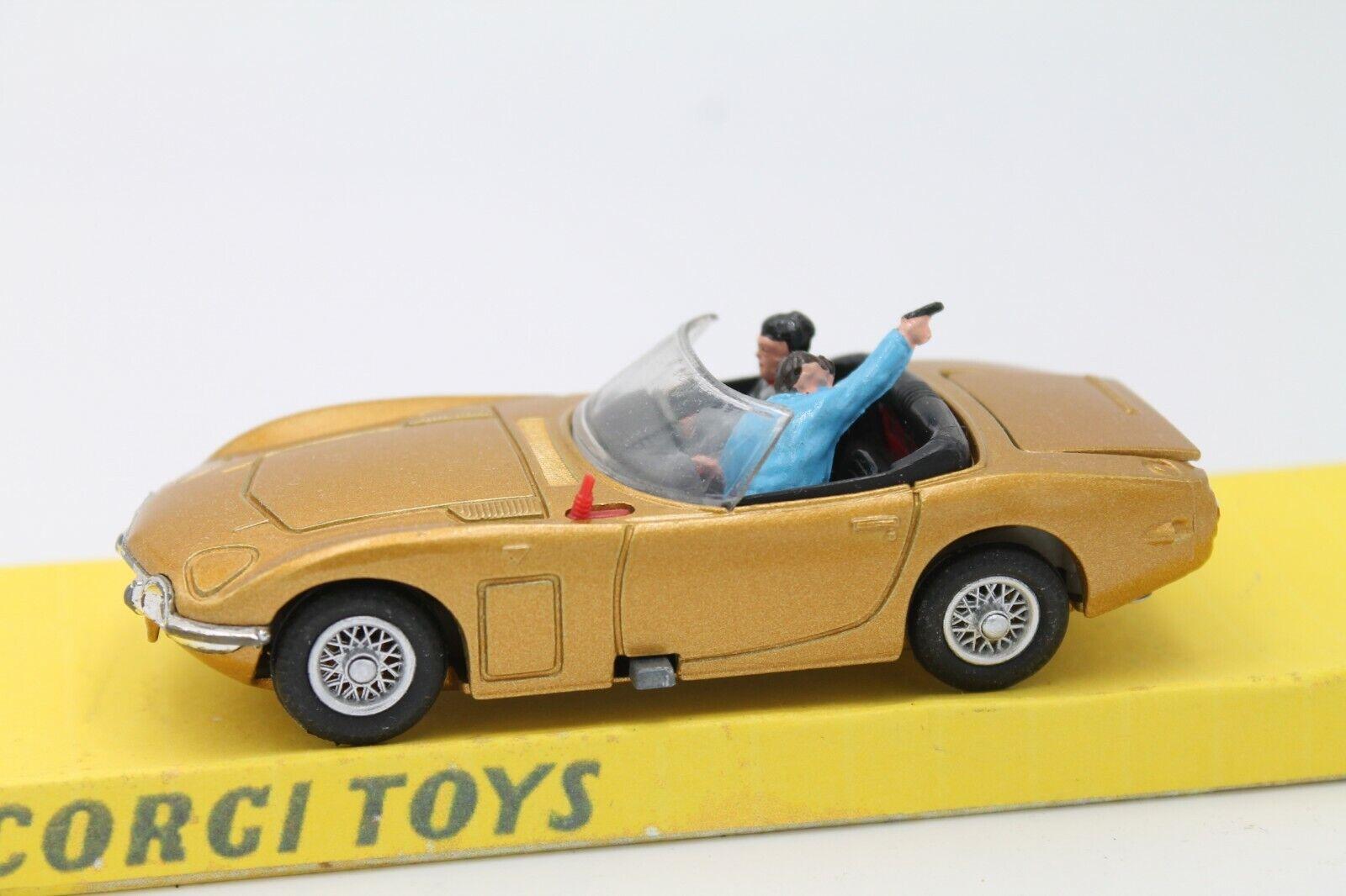 CORGI SpielzeugS  SpielzeugOTA 2000  GT  JAMES BOND  CODE 3  Gold