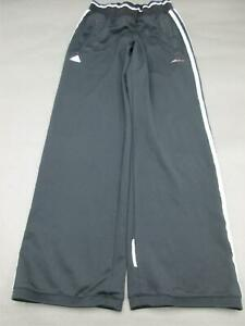 ADIDAS-SIZE-M-WOMENS-BLACK-ATHLETIC-FITNESS-GYM-SPORTSWEAR-TRACK-PANTS-061