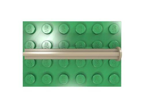 LEGO Technik Achse 5 mit Anschlag dunkelbeige neu 15462 10 x