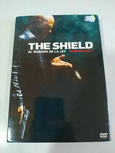 The Shield Settimo Stagione 7 Completa - 4 X DVD Spagnolo Inglese