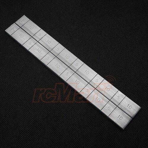 Wrap Up Next Setting Balance Weight 5gx12pcs 10gx12pcs RC Cars Drift #0027-05