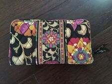 Vera Bradley Large ZIP AROUND ACCORDION Fabric WALLET Suzano Floral Retired