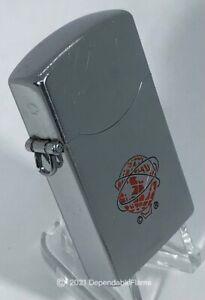 """Vintage """"Penguin"""" Petrol Pipe Lighter Lanyard Loop 1961 N.Y.W.F. JAPAN 100%2HDSA"""