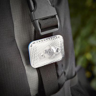 5 Stück LED Mehrzecklicht aufladbar USB Warnlicht Sicherheitslicht Blinklicht H7