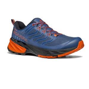 Scarpa homme RUSH Gore-Tex Trail Chaussures De Course Baskets Sneakers Bleu Sports