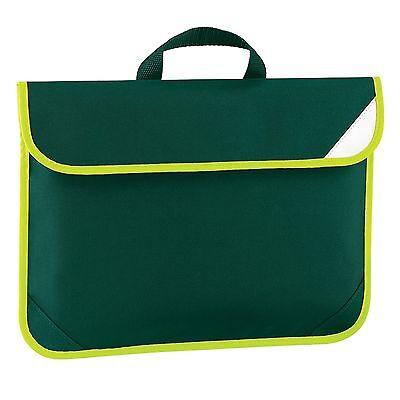 Book Bag School Bookbag Quadra Classic Briefcase Strap Enhanced Viz Boys Girls