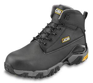 Jcb 4x4 sizes Wider 11 nero Safety Waterproof scarpe Work stivali 7 Men's Fit wwSrq4