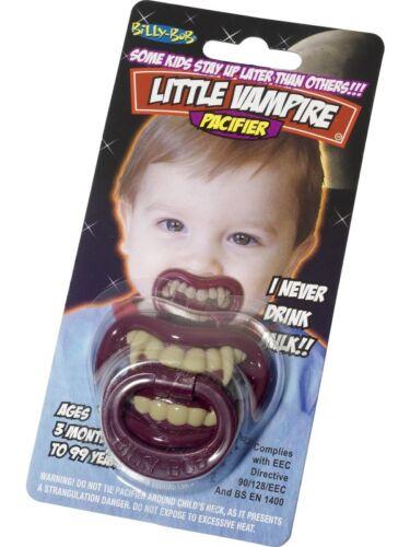 Vampirschnuller Dracula Zähne Schnuller Halloween