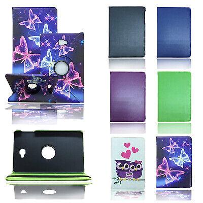 """Custodia Folio In Pelle Stand Copertura Per Samsung Galaxy Tab A 10.1"""" T580/t585-mostra Il Titolo Originale"""