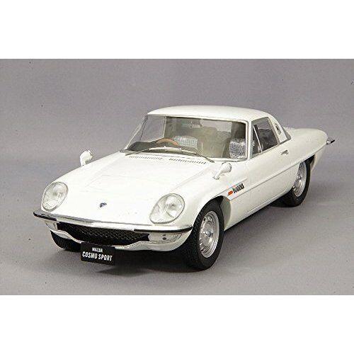 Primeros 18 1 18 Mazda Cosmo Deportes L10B tipo tarde Modelo Diecast blancoo F18-008