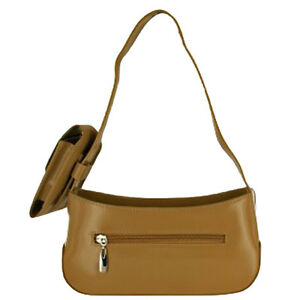 Image Is Loading Camel Color Handbag With Cell Phone Holder