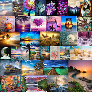 5D-DIY-Full-Drill-Diamond-Painting-Landscape-Cross-Stitch-Embroidery-Kits-Decor