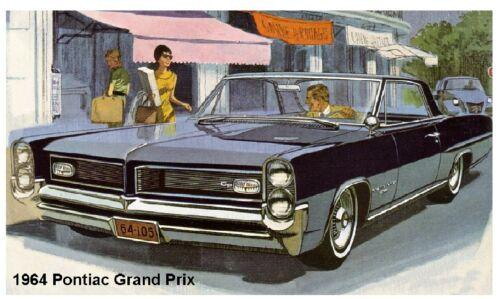 1964 Pontiac Grand Prix Auto Refrigerator Tool Box  Magnet