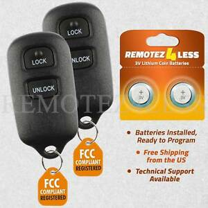 2000 toyota camry replacement key