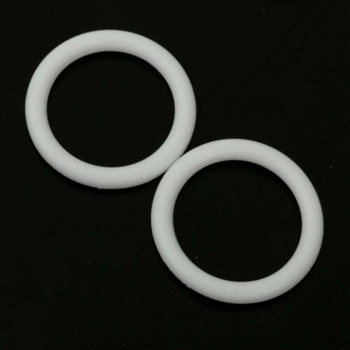 10Pcs Silicone Baby Pacifier Holder Ring Napkin Adapter O Ring Dummy Rings Kids