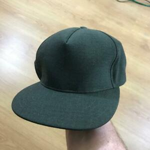 Universal Works Hat Cap Olive Dark Green Trucker Strapback BNWT ... 30c5103f809
