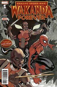 Amazing-Spider-man-Wakanda-Forever-1-Marvel-Comic-1st-Print-2018-unread-NM