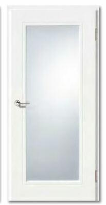Vitadoor gefälzte Türen ohne Schlüssellochbohrung Weißlack Röhrenspankern