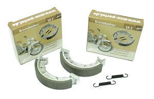 Simson-4-Brake-Shoes-2x-Brake-SR2-SR2E-Sr-2-KR50-Genuine-Drum-Brake-Brake
