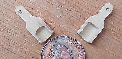 1:12 SCALA 2 palette in legno 2cm x 0.8cm tumdee casa delle bambole cucina in miniatura