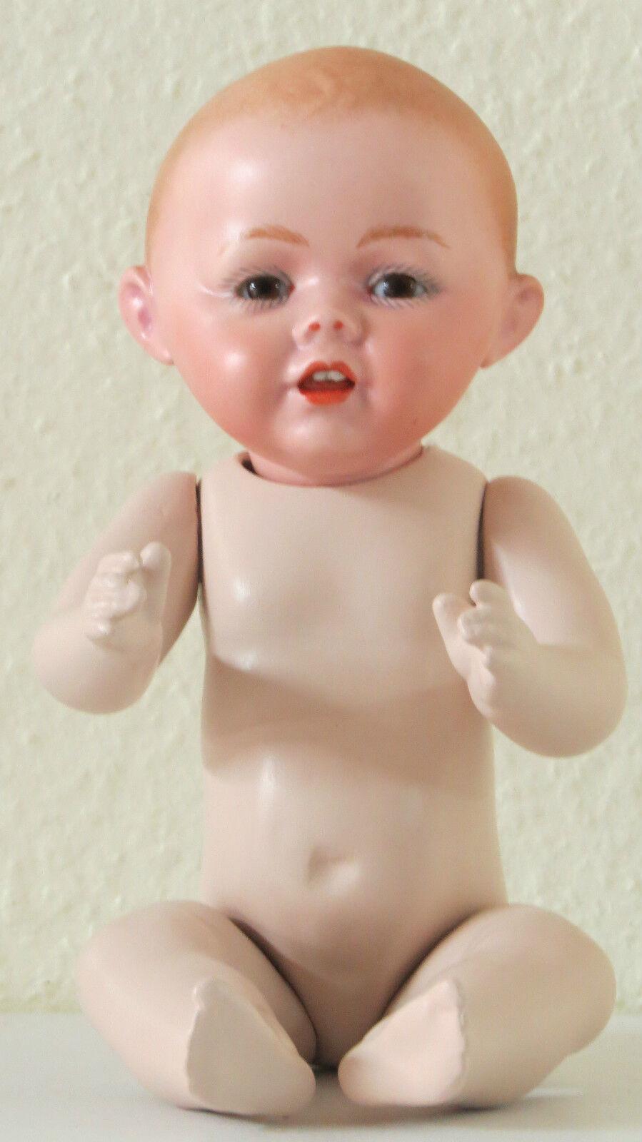 KESTNER 26CM, 10,4 Inch corps  Bambino Poupée Ancienne Reproduction Antique Doll