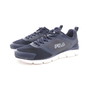 Fila Men/'s Navy Blue Memory Foam SteelSprint Athletic Shoes 1RM00103-420 NIB