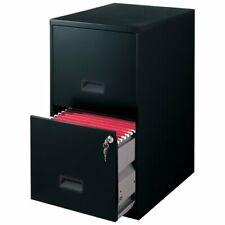 Filing Cabinet 2 Drawer Steel File Cabinet With Lock Color Black