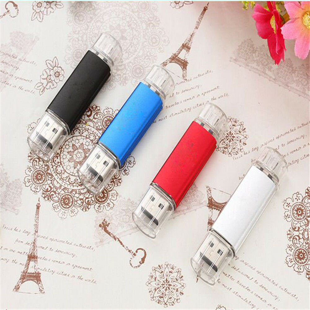 1TB 2TB 128GB Swivel OTG USB 2.0 Flash Drive Pen Memory Stick Key Thumb Storage