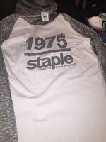 Staple 1975 Hoodie Sx 2xl White Gray