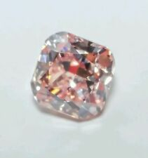 Pink Diamond - 0.75ct Natural Loose Fancy Brown Pink Color GIA Cushion SI2
