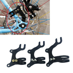Adjustable Bike Frame Conversion Kit Bicycle Disc Brake Adapter Bracket Mountain