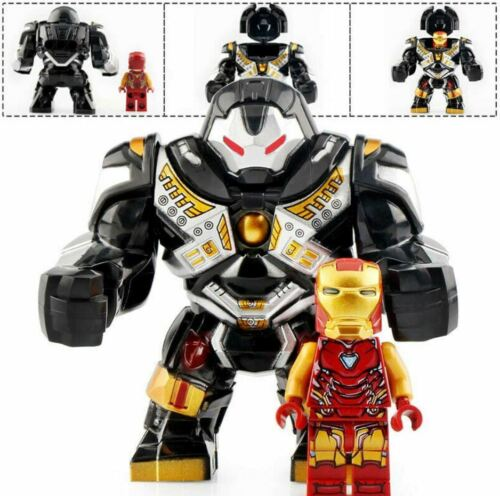 HulkBuster Avengers End Game Lego Moc Minifigure Toys Gift /& Iron Man Black
