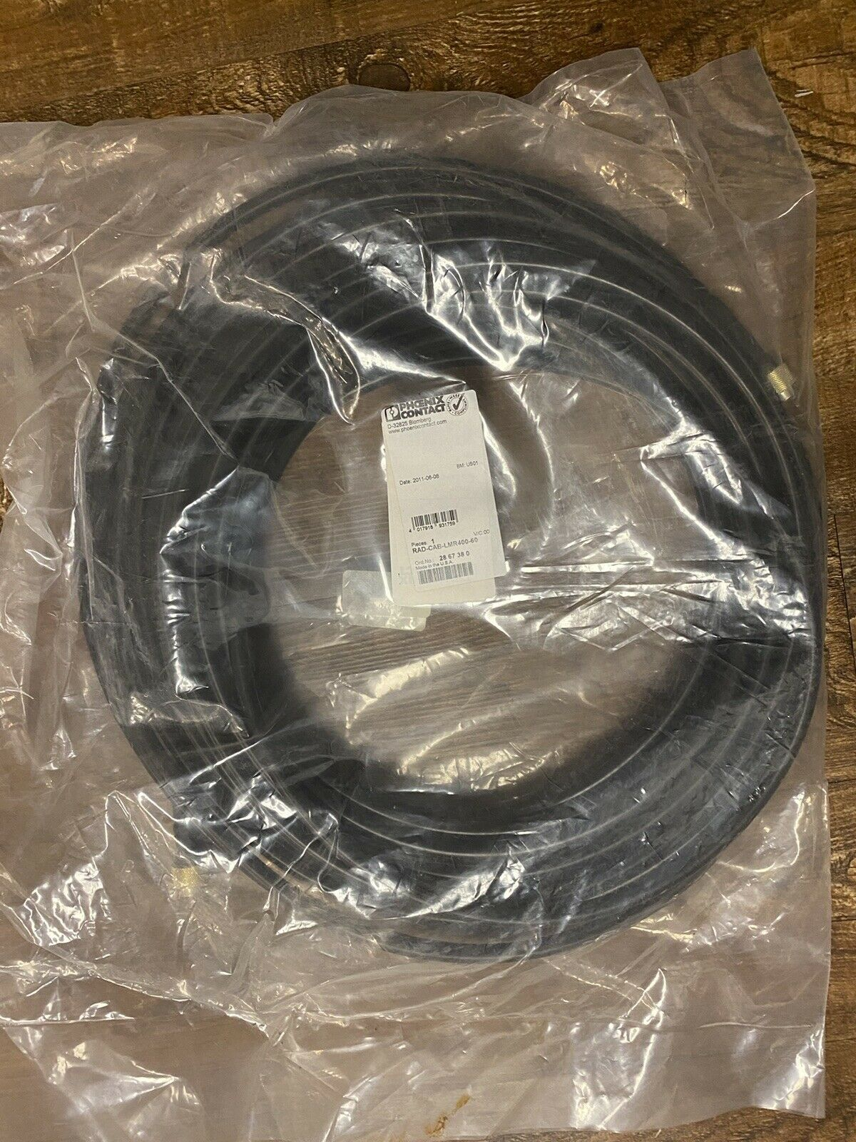 LMR- 400 Coaxial Cable. Available Now for 110.00