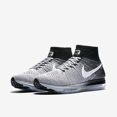 11 Womens Zoom All Out Flyknit 845361 003 gey//White//Black