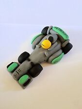Edible F1 Car Lewis Hamilton Detailed Cake Topper Decoration