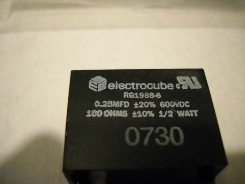 ELECTROCUBE RG1988-6 RC NETWORK NEW CONDITION NO BOX