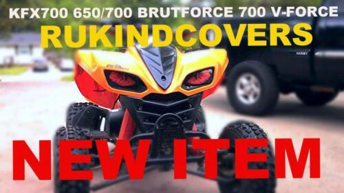 700 V-Force KFX 700 /& 650 brute force REAPER EYE/'S COVERS