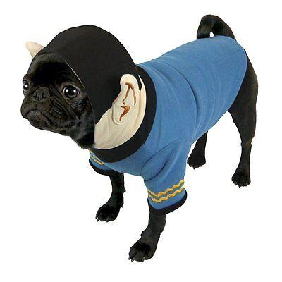 Analytisch Star Trek - Hundekostüm Hoodie - Captain Spock (s-xl) Feine Verarbeitung